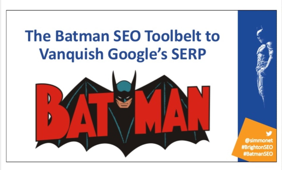 The Batman SEO Toolbelt