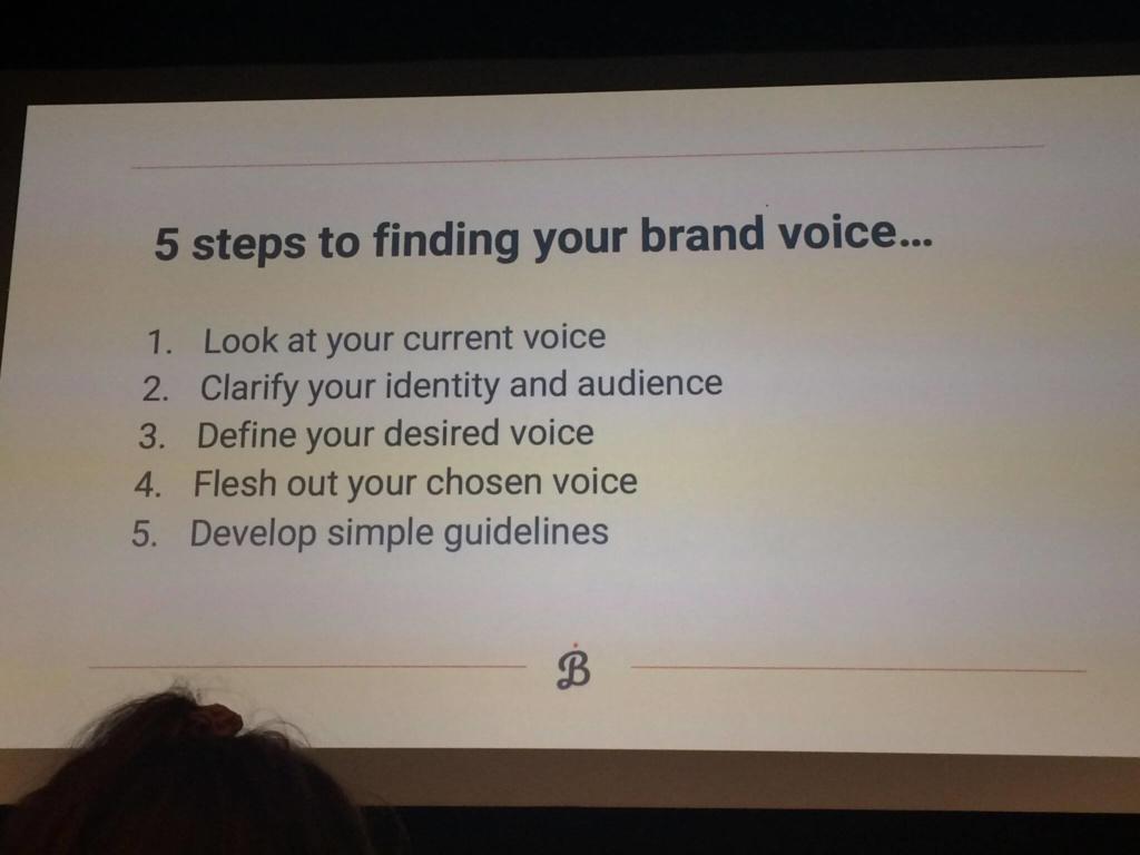 A slide from Bethany Joy's talk at Digital Gaggle in Bristol.