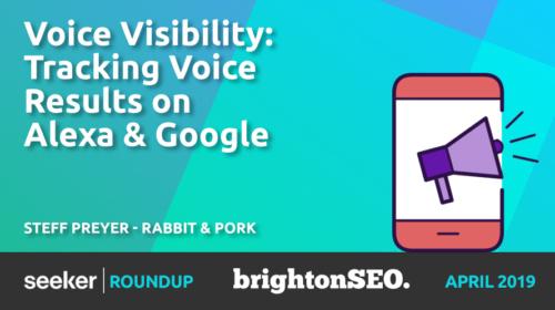 Alexa & Google Voice Results – Steff Preyer